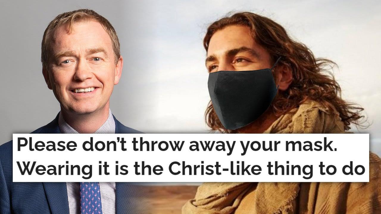 Would Jesus wear a mask?