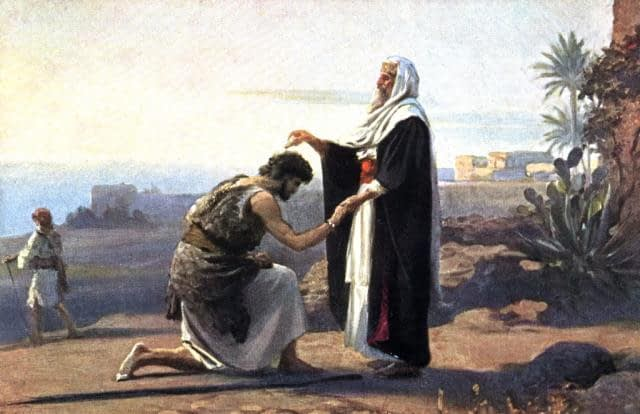 LOS REYES DE ISRAEL  Samuel-saul