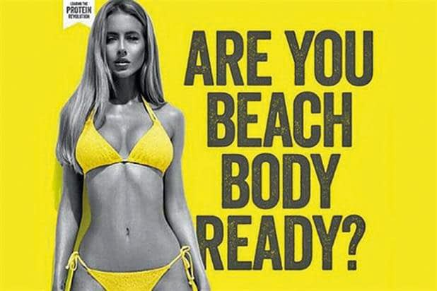 Poster: Are you beach body ready?