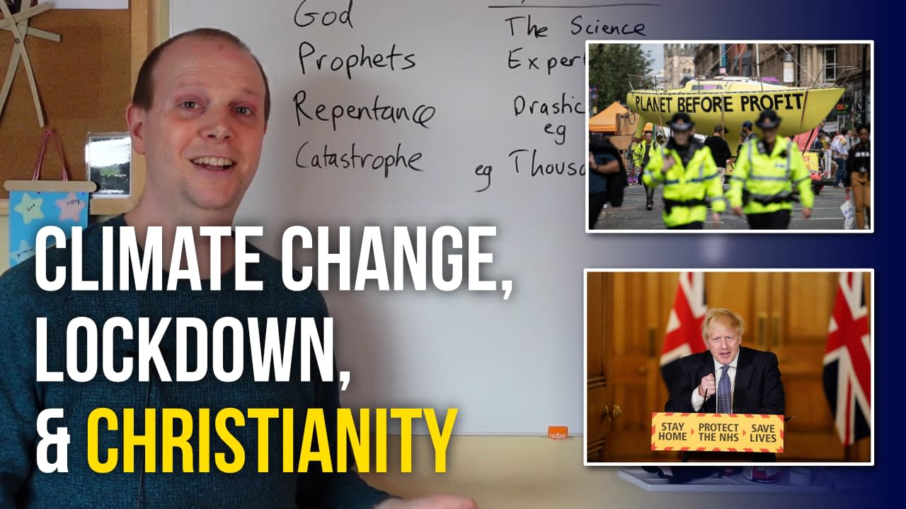 The religion of lockdown & climate change