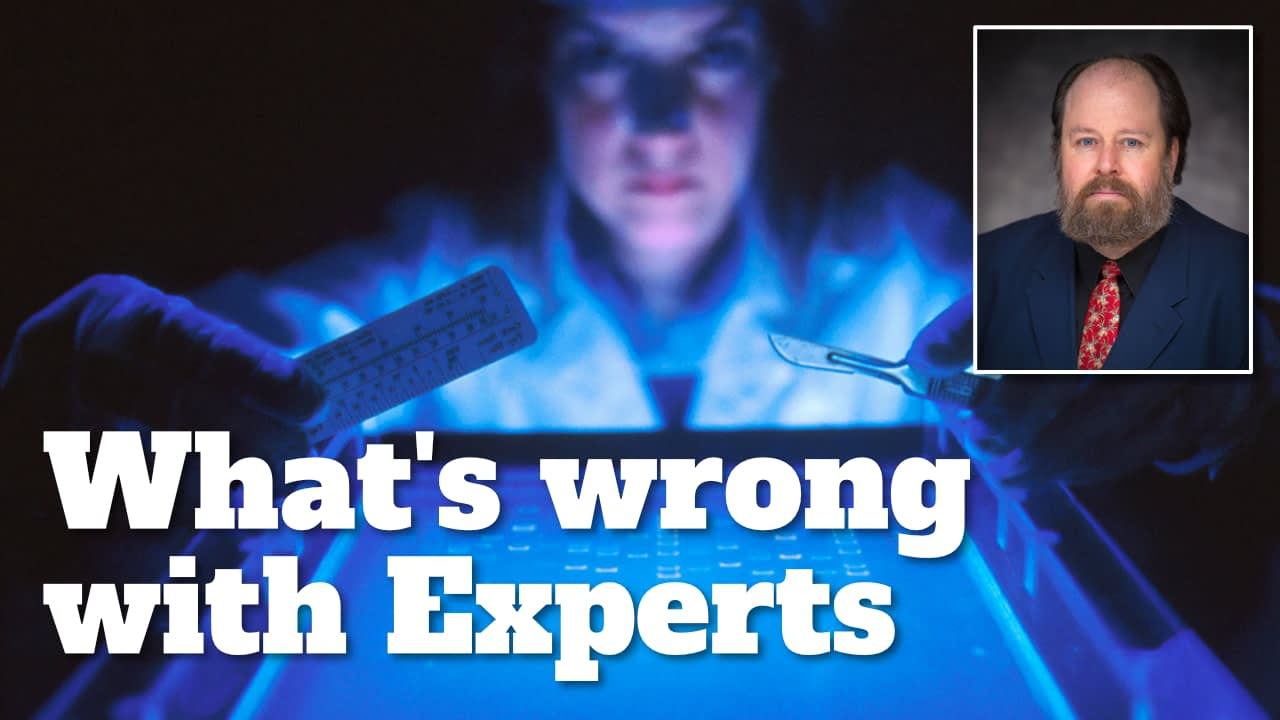 What's wrong with Experts?