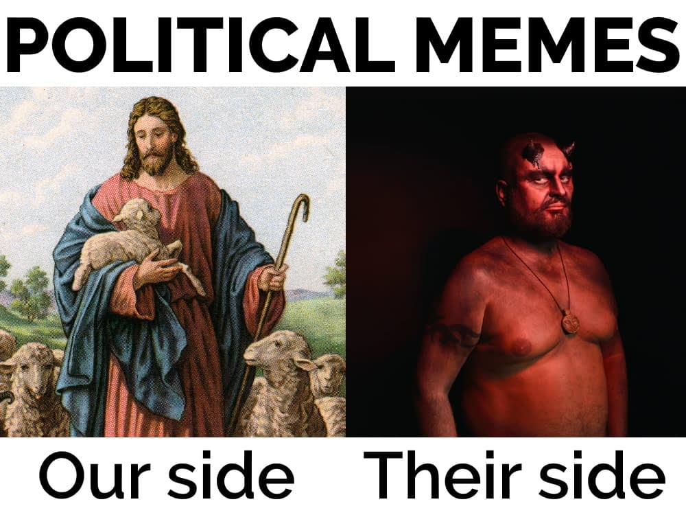 How to hide political memes on Facebook