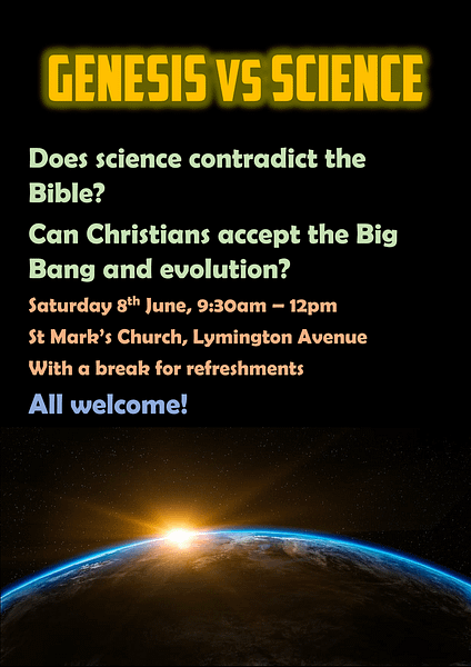 Genesis vs Science – Talk recording