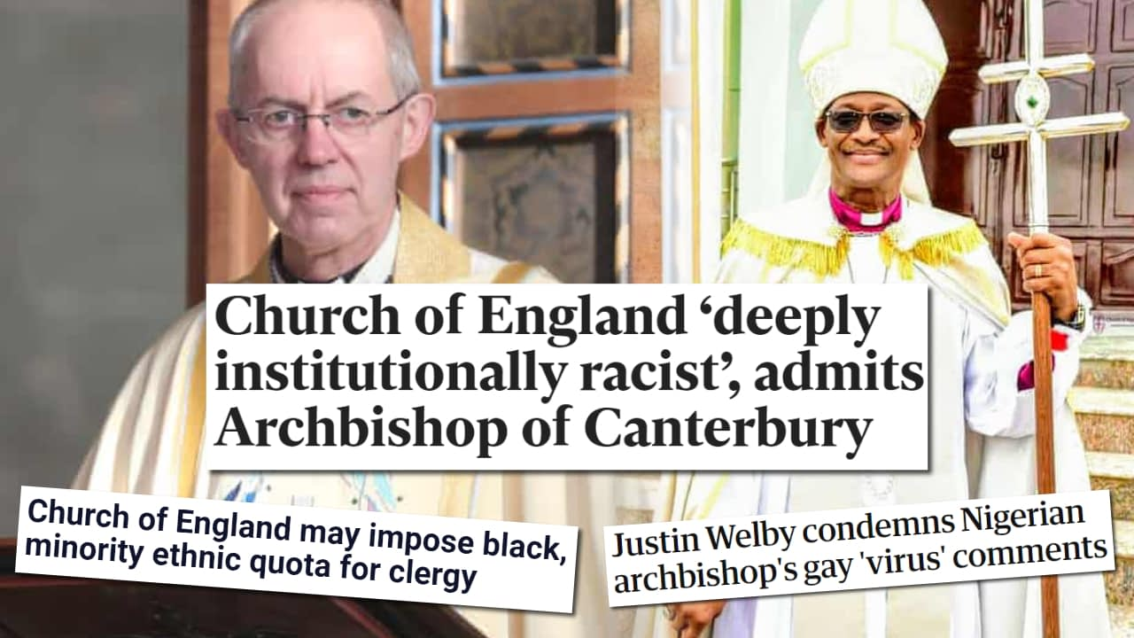 Is the Church of England institutionally racist?
