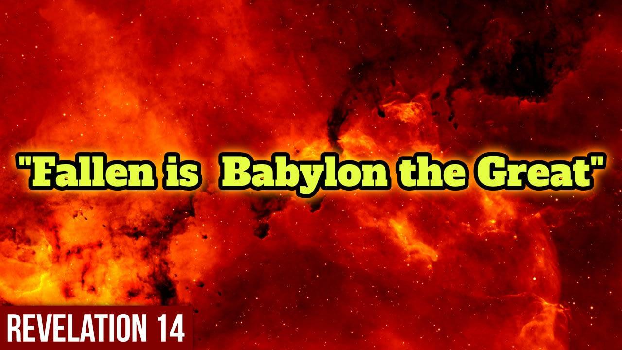The final judgement – Revelation 14