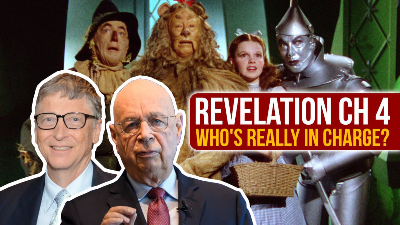 Who's really in charge? – Revelation ch. 4